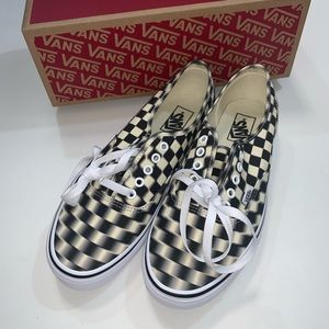 Vans classic blur check sneakers 1372
